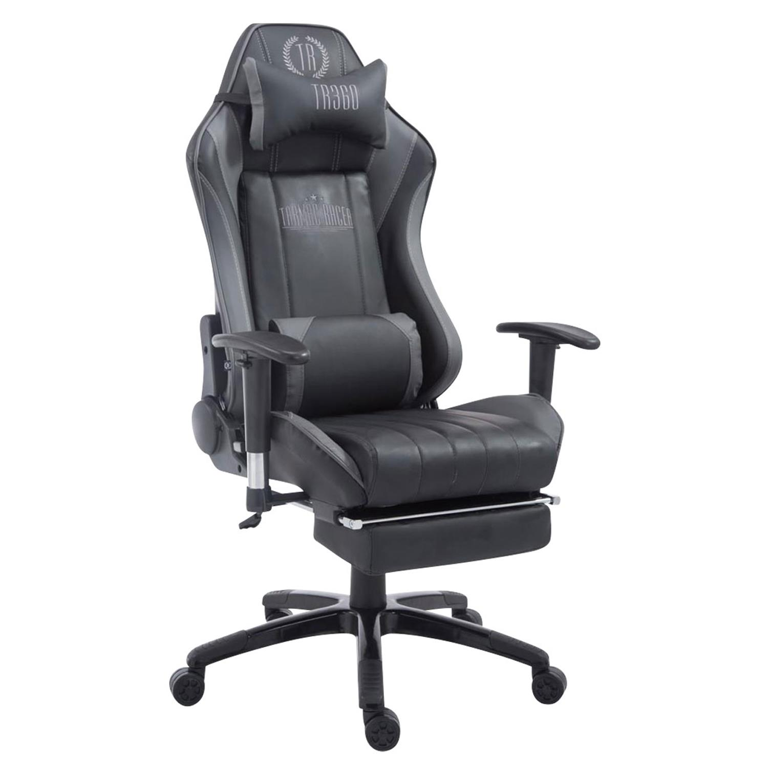 fauteuil gamer turbo avec reposepieds inclinable